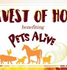 Harvest of Hope Event benefiting PetsAlive.org