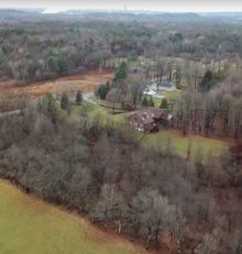 Checking out a horsey hangout Hudson Valley Drone Flights